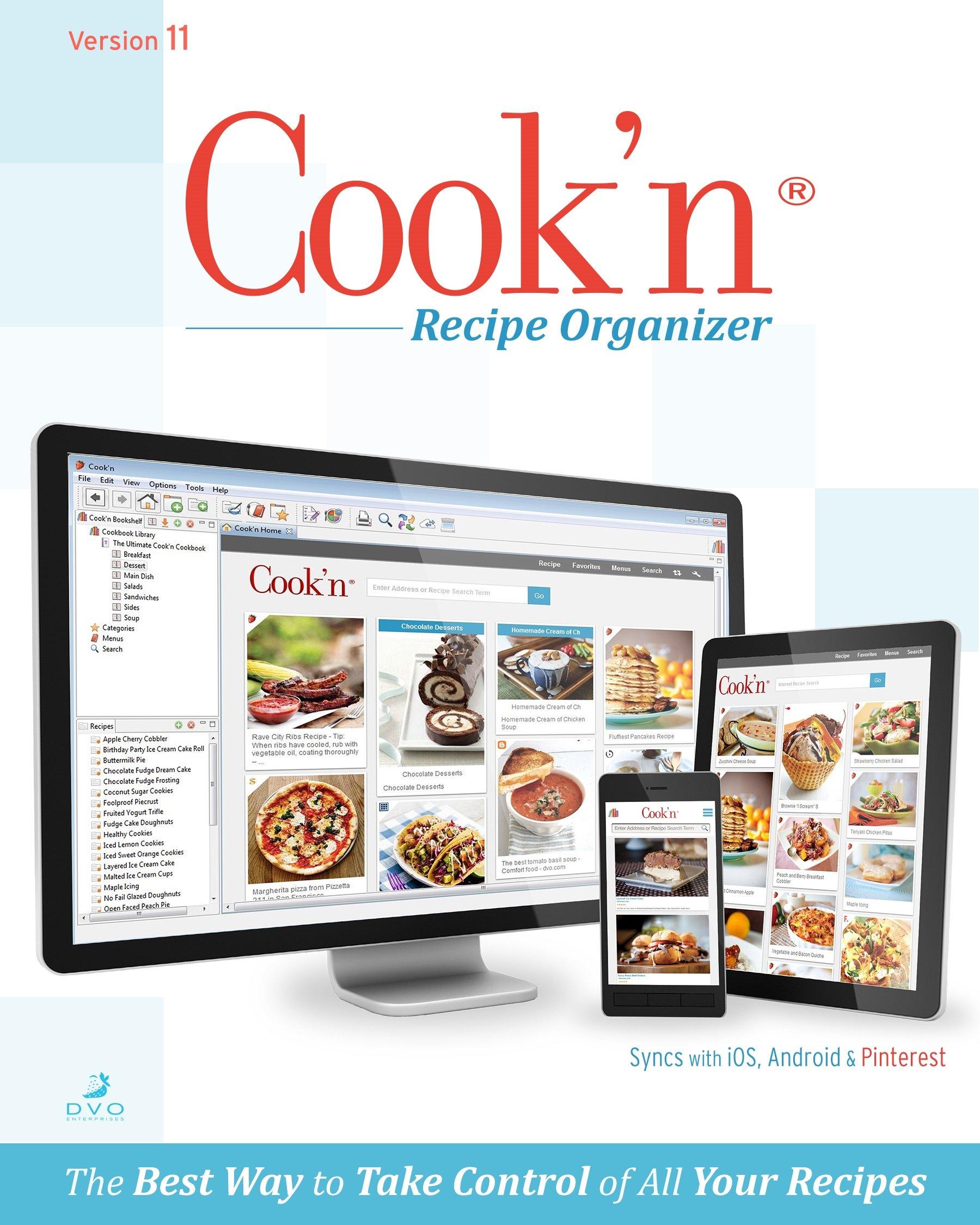 Cook'n Recipe Organizer Version 11 MAC [Download] by DVO Enterprises