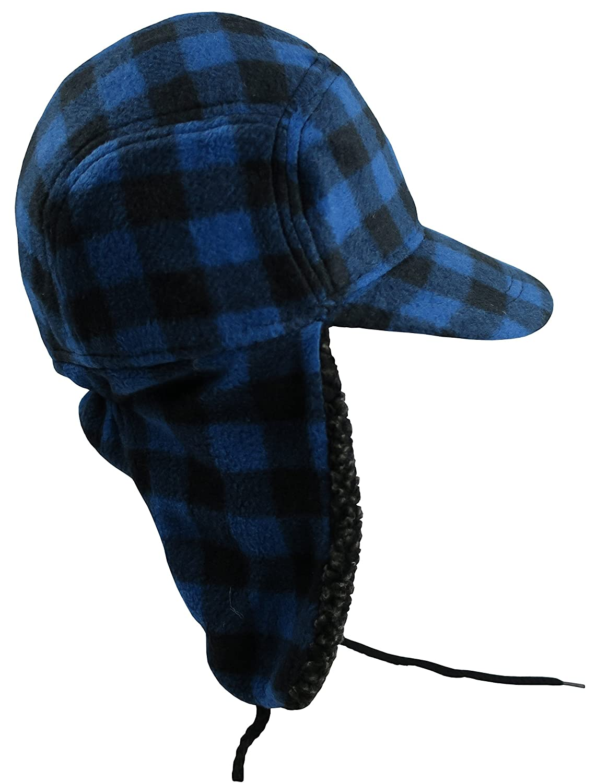 567d031a N'Ice Caps Big and Little Boys and Teens Buffalo Plaid Elmer Fudd Hat:  Amazon.ca: Luggage & Bags