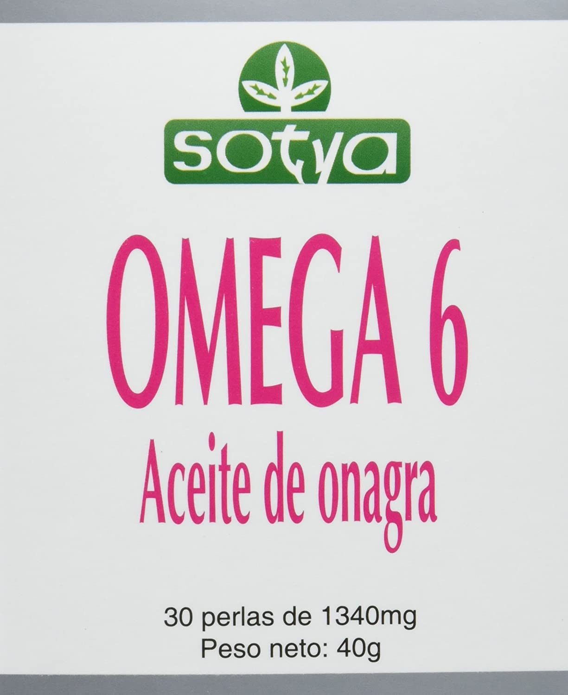 SOTYA - SOTYA Omega 6 Aceite de Onagra 30 perlas 1340 mg ...