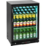 Royal Catering Nevera Expositora Para Bebidas RCGK-W200 (170 L ...