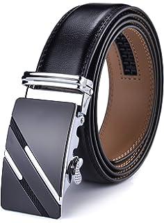 Men Belt, Xhtang Mens Belt Genuine Leather Quality Automatic