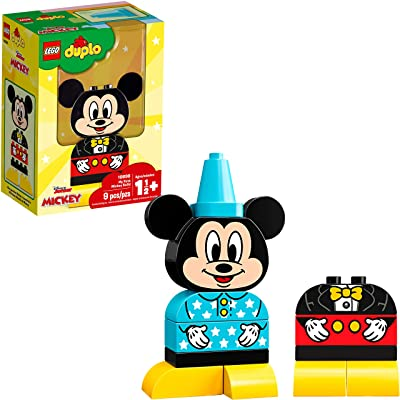 LEGO DUPLO Disney Juniors My First Mickey Build 10898 Building Bricks (9 Pieces): Toys & Games