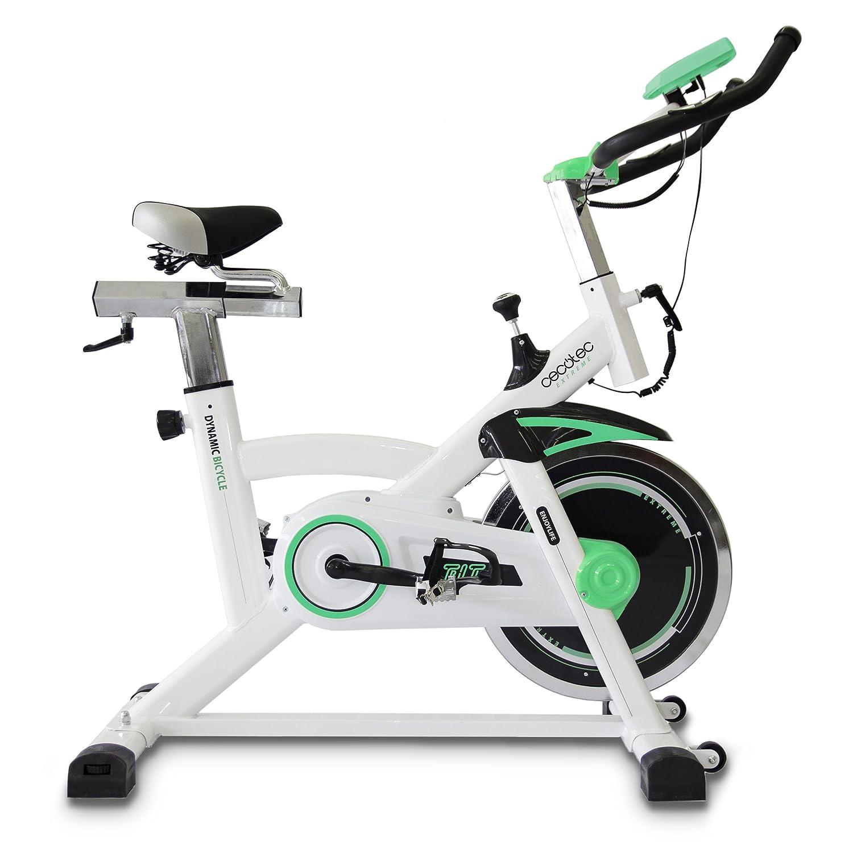 Cecotec Bicicleta Indoor Extreme 25. 25kg Volante inercia, Pulsómetro, Pantalla LCD, Resistencia Variable, Estabilizadores, SilenceFit