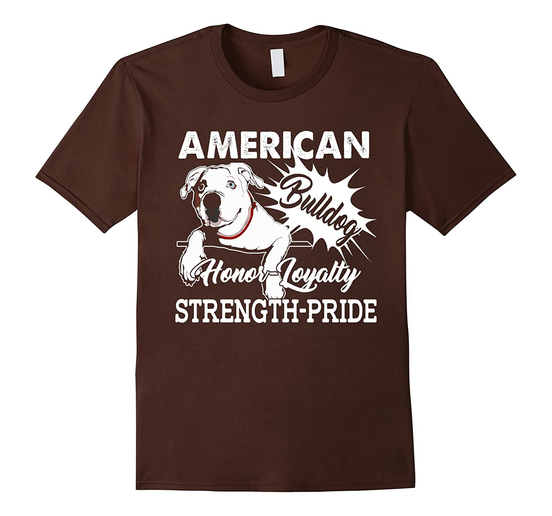American Bulldog T shirt - American Bulldog Pride Shirt-AZP