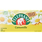 Elephant Infusion Camomille Bio 25 Sachets 30g