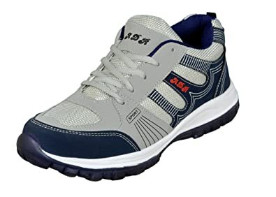 Jollify Mens Grey And Blue Sport Shoes Buy Online At Low Prices In