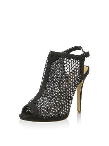 ca74d2b65059 Settesere Chaussures de Talon Ouvert Noir EU 39  Amazon.fr ...