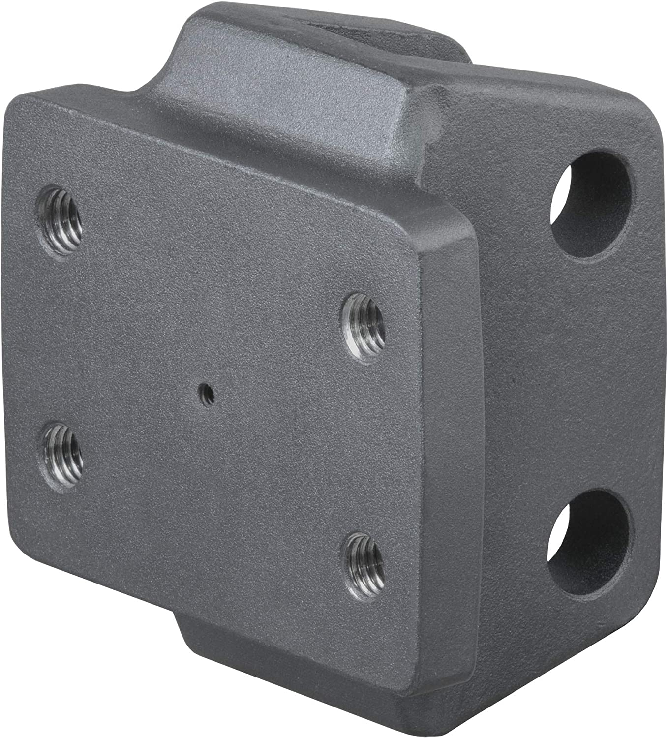 Shank Required CURT 45950 Rebellion XD Adjustable Cushion Hitch Pintle Mount Plate Attachment