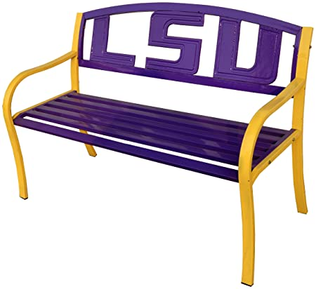 Leigh Country LSU Metal Bench