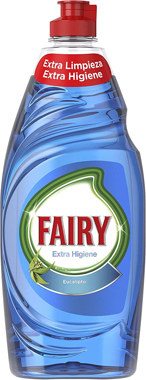 Fairy Extra Higiene Eucalipto Líquido Lavavajillas - 650ml