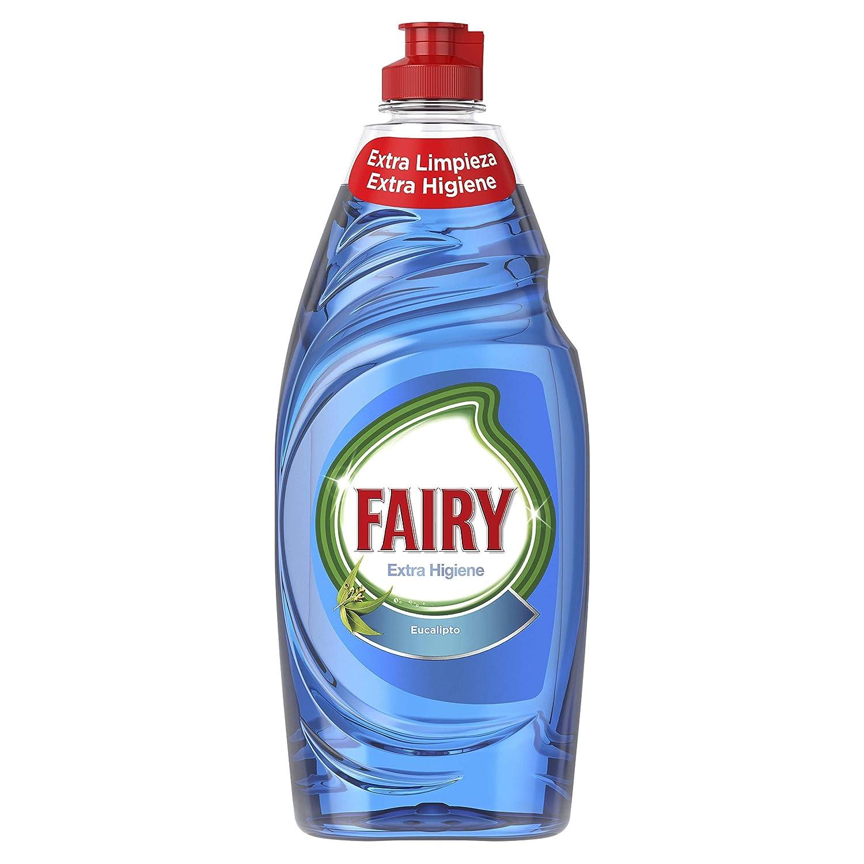 Fairy Extra Higiene Eucalipto Líquido Lavavajillas - 650 ml ...