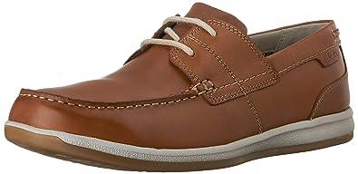 107364bb2e153 Clarks Mens Fallston Style Fallston Style Brown Size: 10 UK: Amazon ...