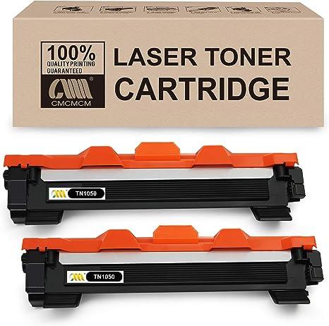 CMCMCM 2PK Cartucho de tóner compatible para Brother TN1050 TN ...