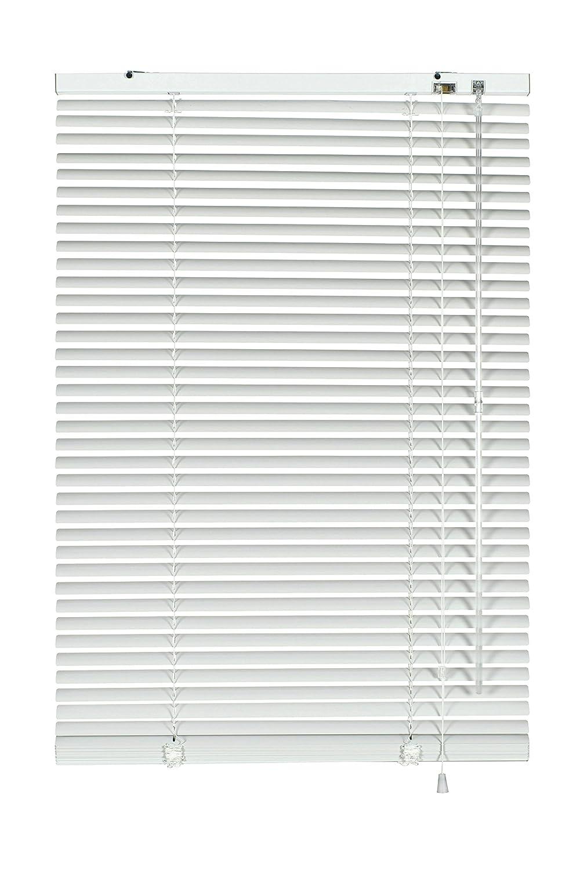 GARDINIA Alu-Jalousie, Sicht-, Licht- und Blendschutz, Wand- und Deckenmontage, Alle Montage-Teile inklusive, Aluminium-Jalousie, Silber, 200 x 175 cm (BxH) B00DF1EECG Jalousien