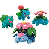 Pokémon Xy Bulbasaur, Ivysaur, Venusaur & Mega Venusaur Mini Figure 4-Pack - Multi Color