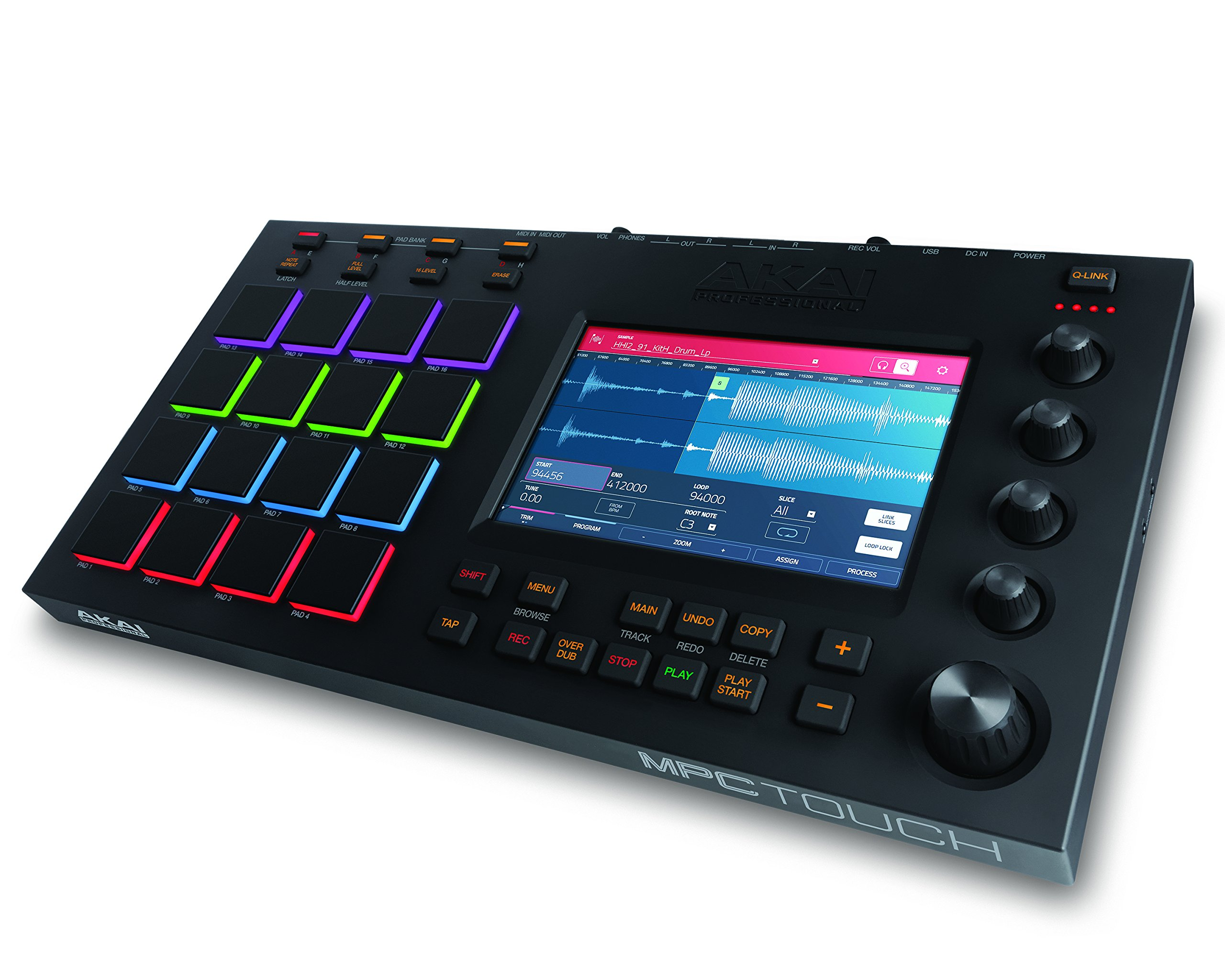 Akai Professional MPC Touch | Music Production Station with 7'' Multi-Color Touchscreen
