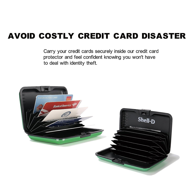 Amazon.com: Shell-D. Protector de tarjetas de crédito ...