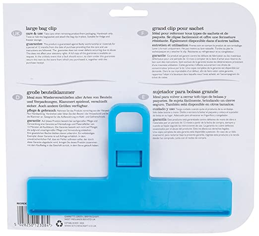 Amazon.com - Large Bag Clip For Resealing Plastic Bags - Kitchen Storage And Organization Product Accessories