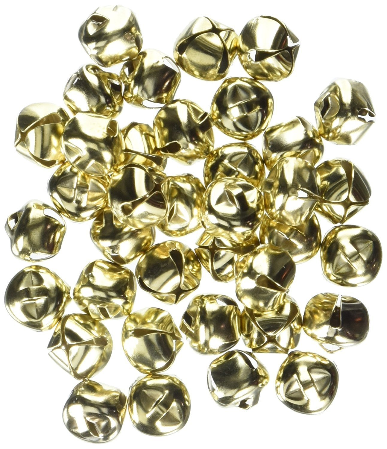 Darice 48-Piece Gold Bells, 1/2-Inch (3 Packs for Total of 144 Pieces) 4334198157