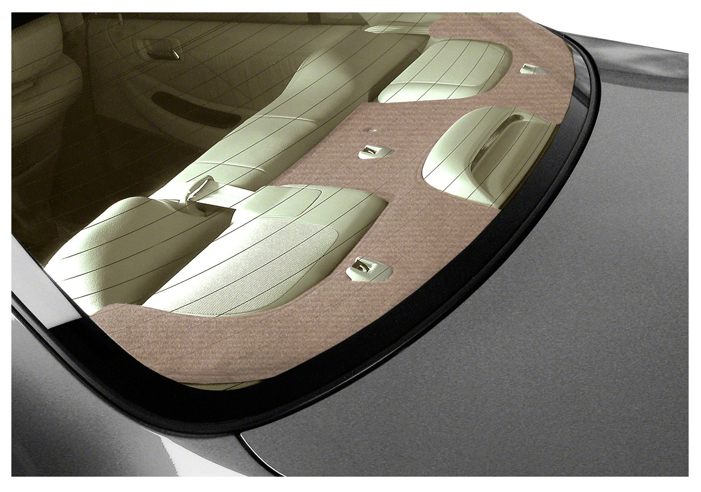 Coverking Custom Fit Dashcovers for Select Honda Accord Models - Velour (Beige) by Coverking (Image #1)