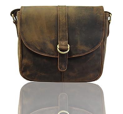 e657327941ba Image Unavailable. Image not available for. Color  KK s 10 quot  Inch Women s  Vintage Genuine Leather Tote Shoulder Bag Handbag Upgraded Version