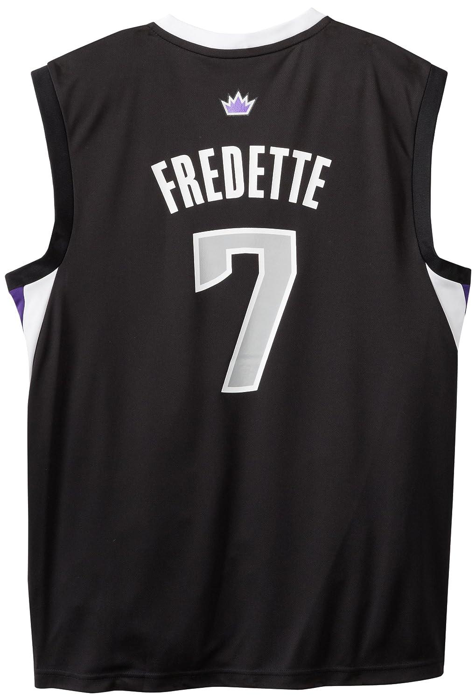 online store 7e4f9 9c625 NBA Sacramento Kings Black Replica Jersey Jimmer Fredette #7 ...