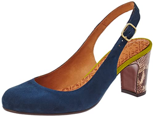 Womens Jelly Sling Back Heels, Bleu (Ante Indigo-Ante Curry-Amazon Testa), 8 UK Chie Mihara