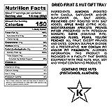 Milliard Dried Fruit & Nut Deluxe Gift Platter