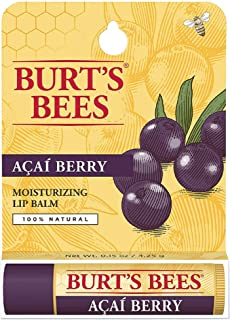 product image for Burt's Bees 100% Natural Moisturizing Lip Balm, Acai Berry 0.15 oz (Pack of 2)