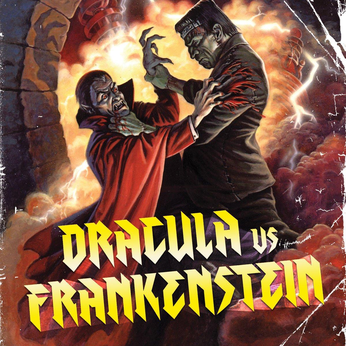 Image result for Frankenstein vs. Dracula