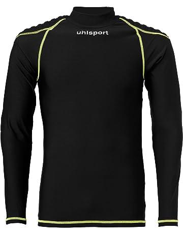 Uhlsport Torwarttech Protection Camiseta Acolchada de Portero, Hombre