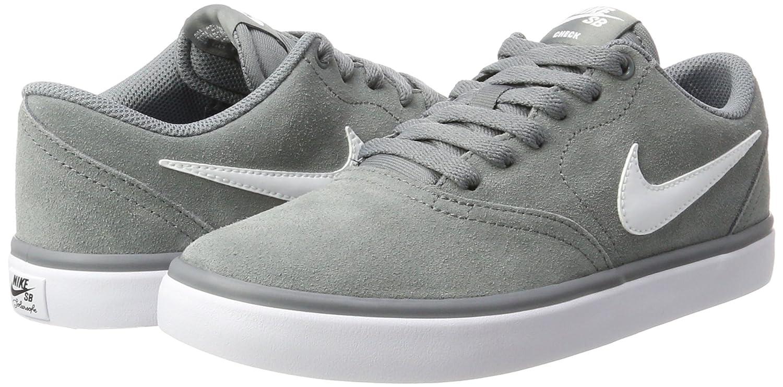 Amazon.com | NIKE Mens SB Check Solarsoft Skate Shoe Cool Grey/White 11.5 D(M) US | Skateboarding