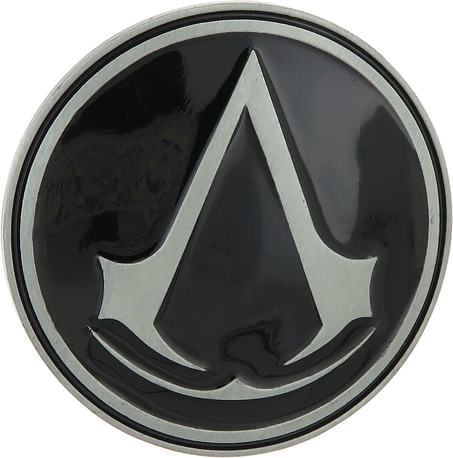 NEW ASSASSINs CREED THE EZIO BELT BUCKLE FULL METAL GAMING BUCKLE