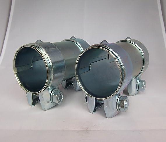 Reparaturschelle Verbindungsschelle für Auspuffrohr Ø65//Länge90-95mm verzinkt