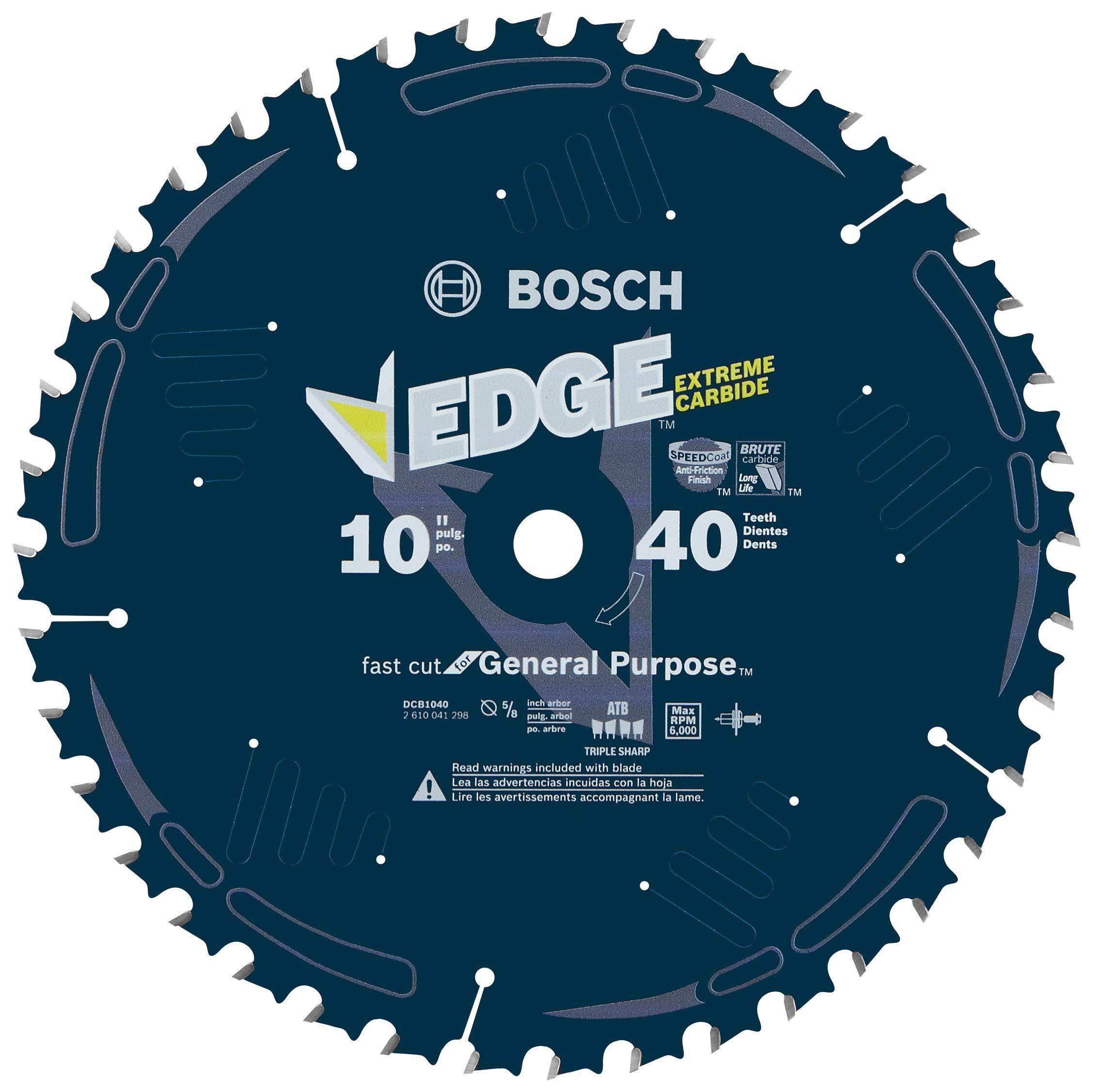 Disco Sierra BOSCH DCB1040 Daredevil 10 x 40T Propósito ge