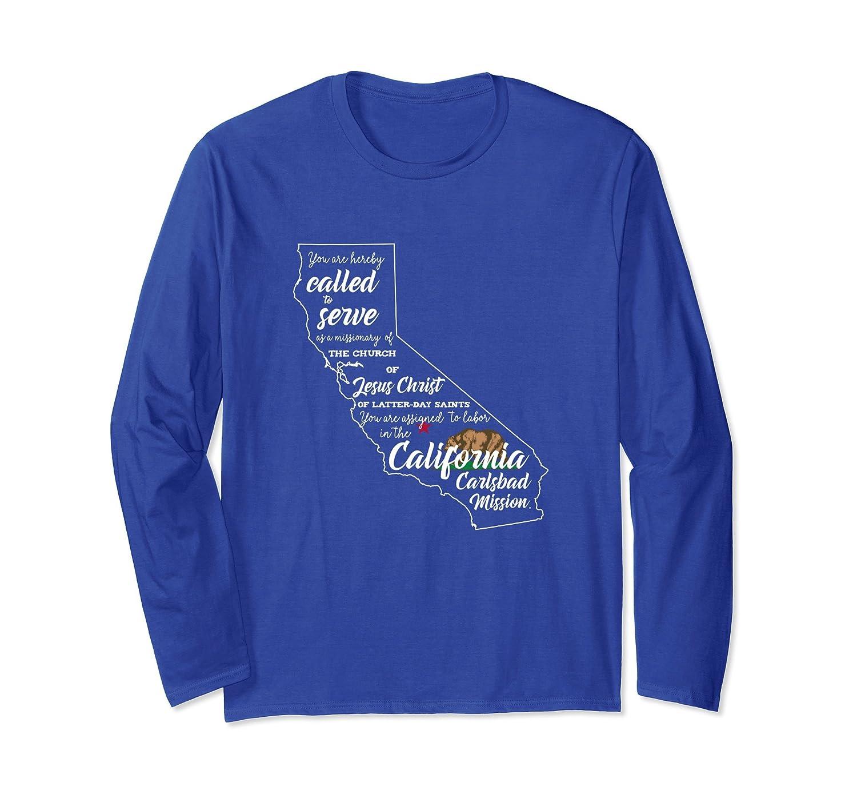 California Carlsbad Mission t-shirt-fa