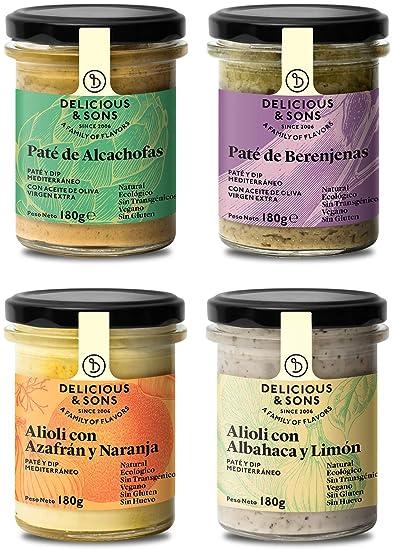 Pack Salsa Alioli y Patés
