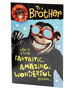 Brother Birthday Card Funny