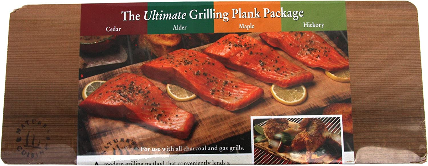 12 Pack Cedar Vegetables and More! Pork Chops Burgers Premium Extra Thick 1//2 Inch Western Cedar for Barbecue Salmon Seafood Grilling Planks Steak