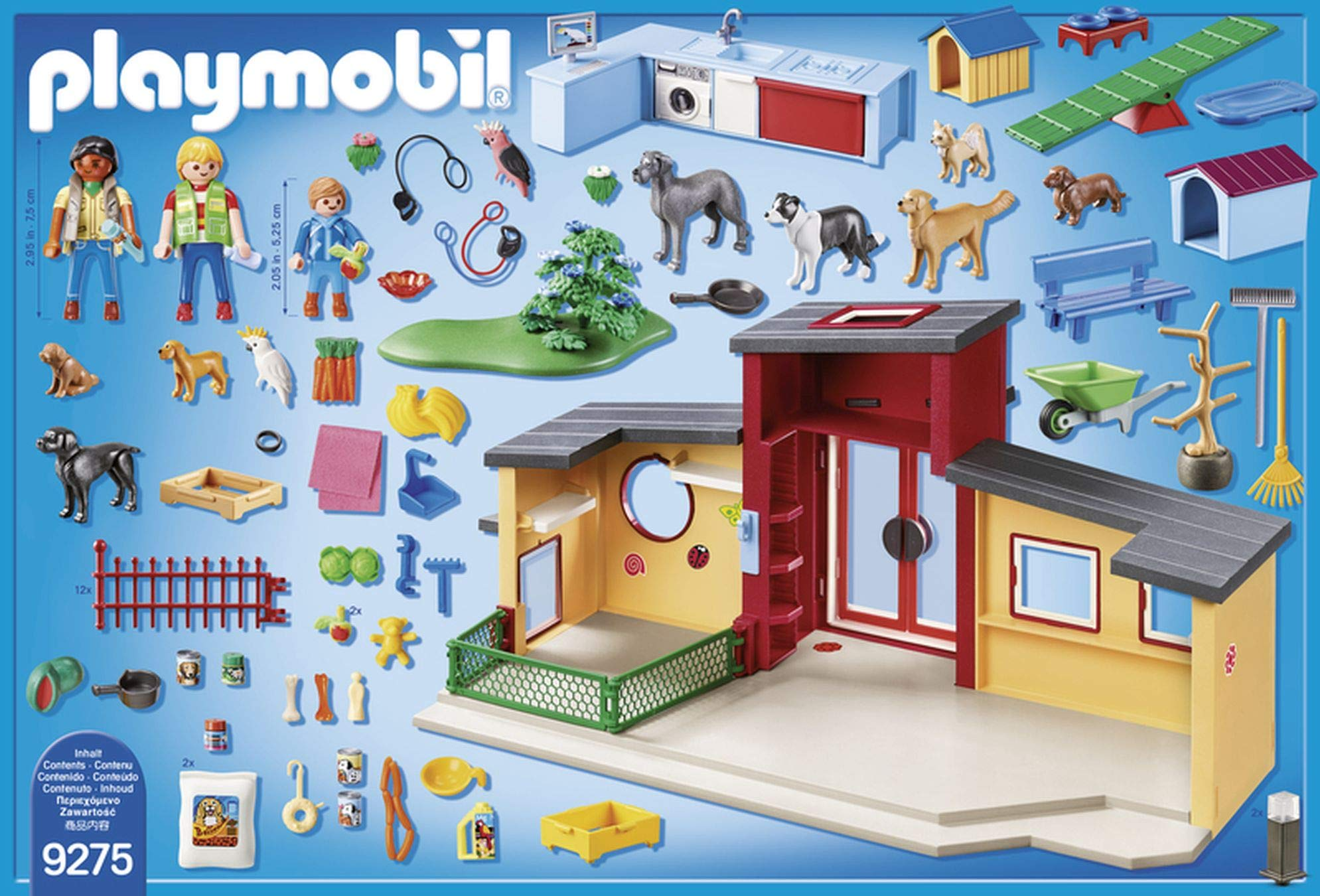 PLAYMOBIL® Tiny Paws Pet Hotel Multicolor by PLAYMOBIL® (Image #8)