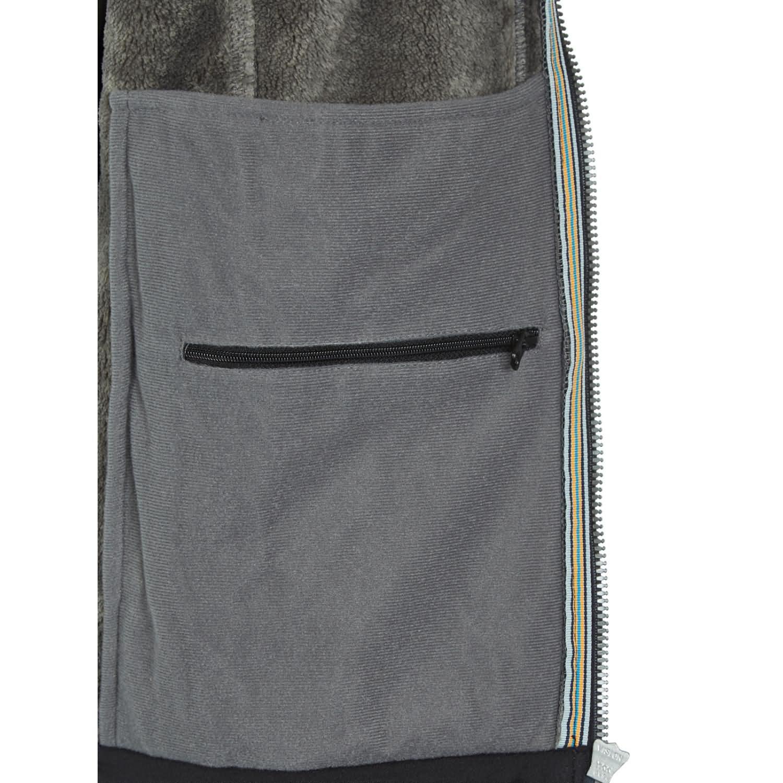 PINEA Herren Winter Softshell Jacke ROBIN Farbe SCHWARZ in