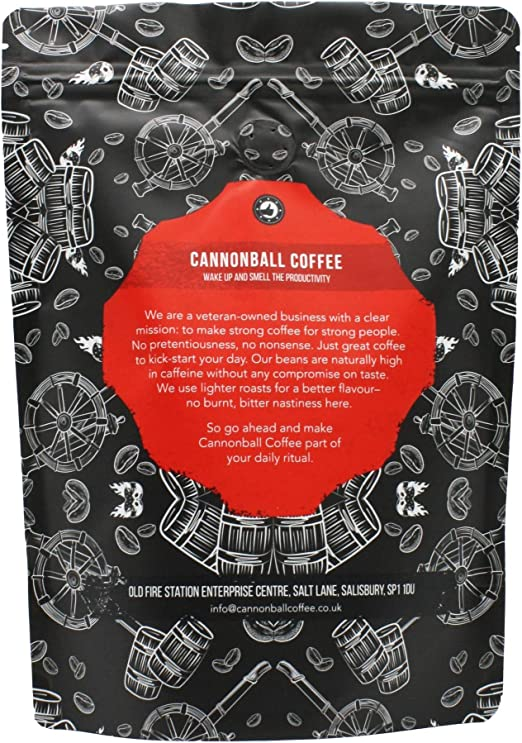 Maximum Charge 500g Lab Certified Worlds Strongest Coffee Extremely High Caffeine Coffee From Robusta Beans Medium Roast 500g Ground