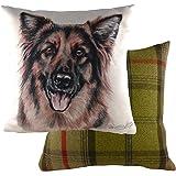 Evans Lichfield DPA271 Waggydogz German Shepherd Cushion 43X43cm