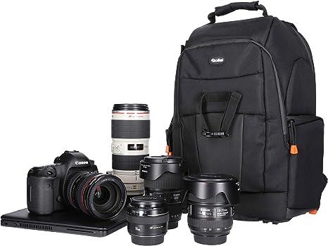 Rollei Fotoliner M I Mochila Grande para cámara I Mochila para el ...