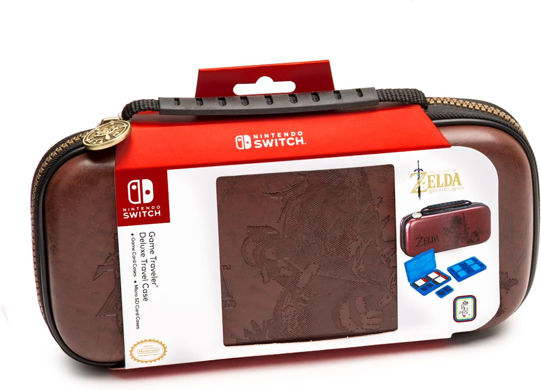 307659e687baa Amazon.com  Nintendo Switch Zelda Breath of The Wild Carrying Case ...