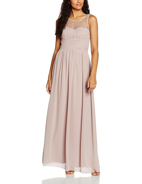 Little Mistress Women's Neck Embellished Dress