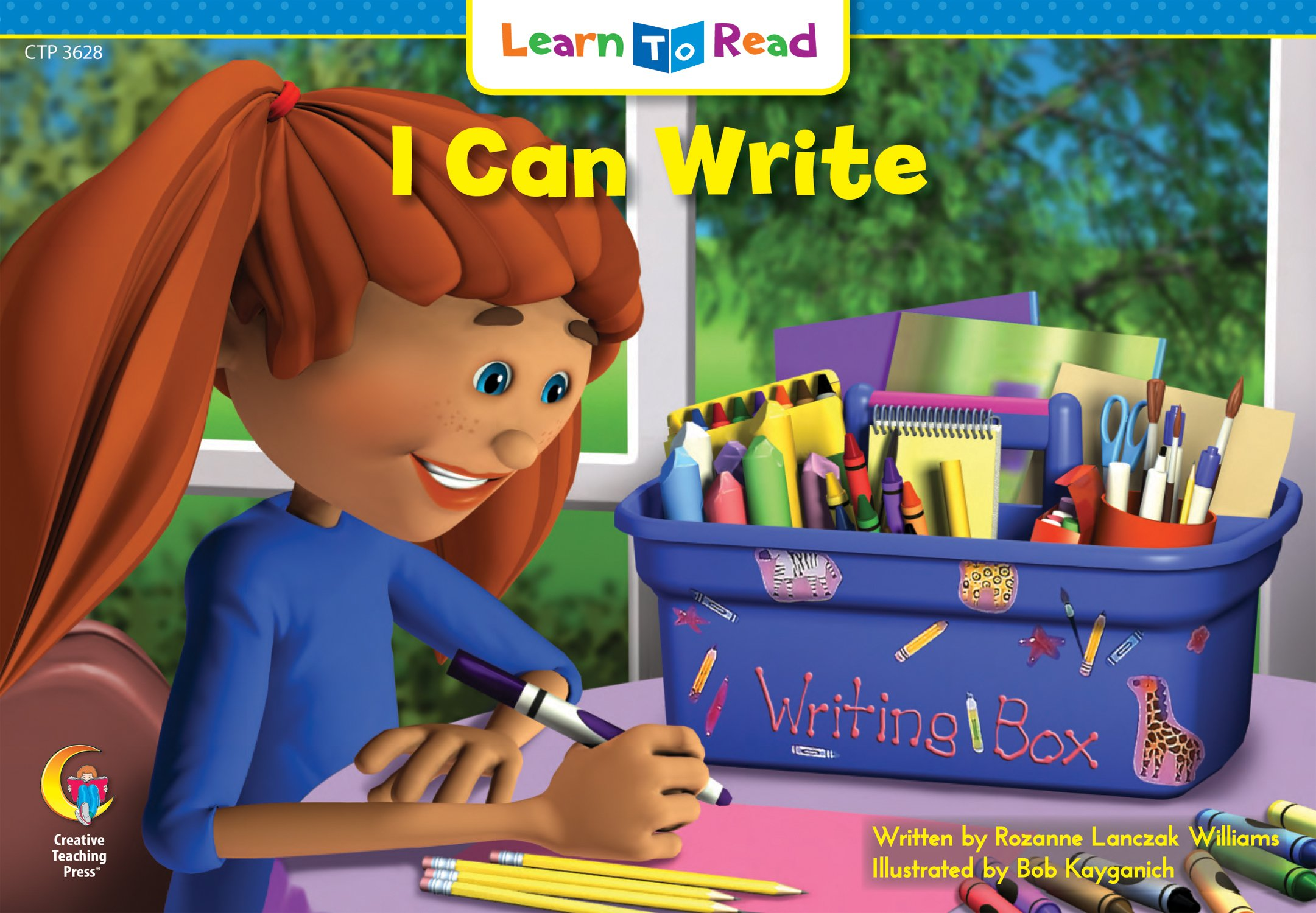 I Can Write (Emergent Reader Book Series)