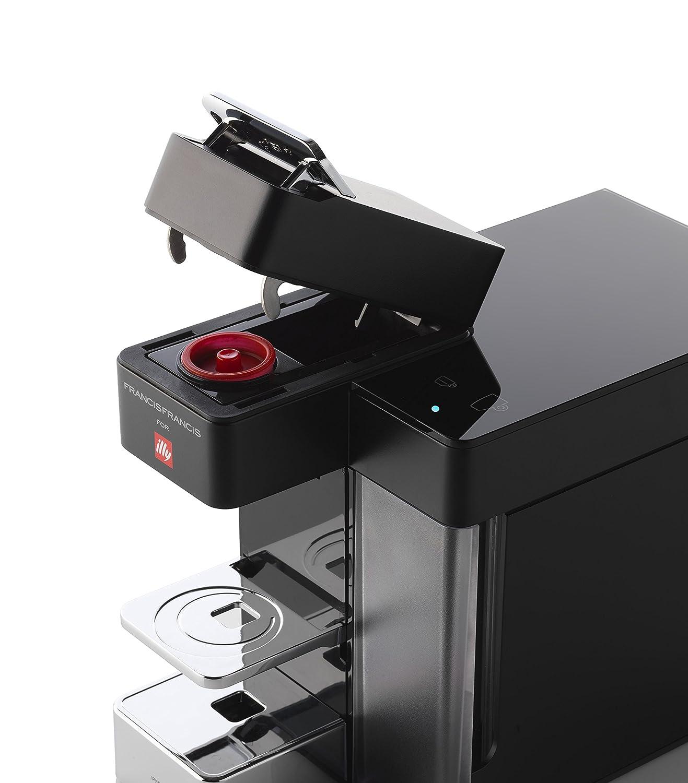 illycaffè illy, Y5 Espresso&Coffee, Máquina de café Iperespresso, conexión Bluetooth, Sistema Dash Replenishment Service (DRS), co, 1250 W, 1 Liter, ...