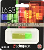 Kingston KC-U6816-4C1G Memoria USB de 16 GB Data Traveler 3 Color Verde