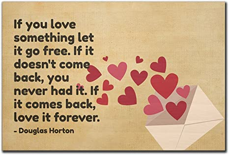 Amazoncom Mundus Souvenirs If You Love Something Let It Go Free